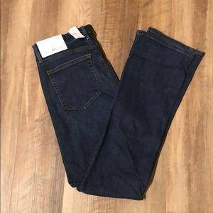 NWT LOFT • 27 (4) • Modern Bootcut Jeans Dark